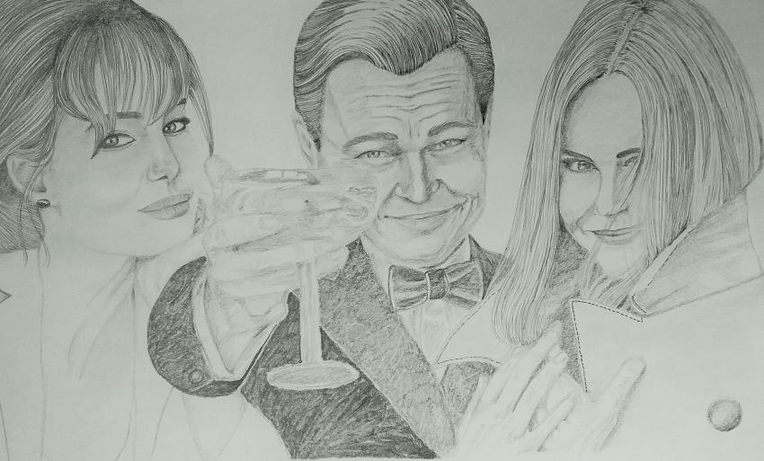 Leonardo DiCaprio, Nicole Kidman, Angelina Jolie by mngha